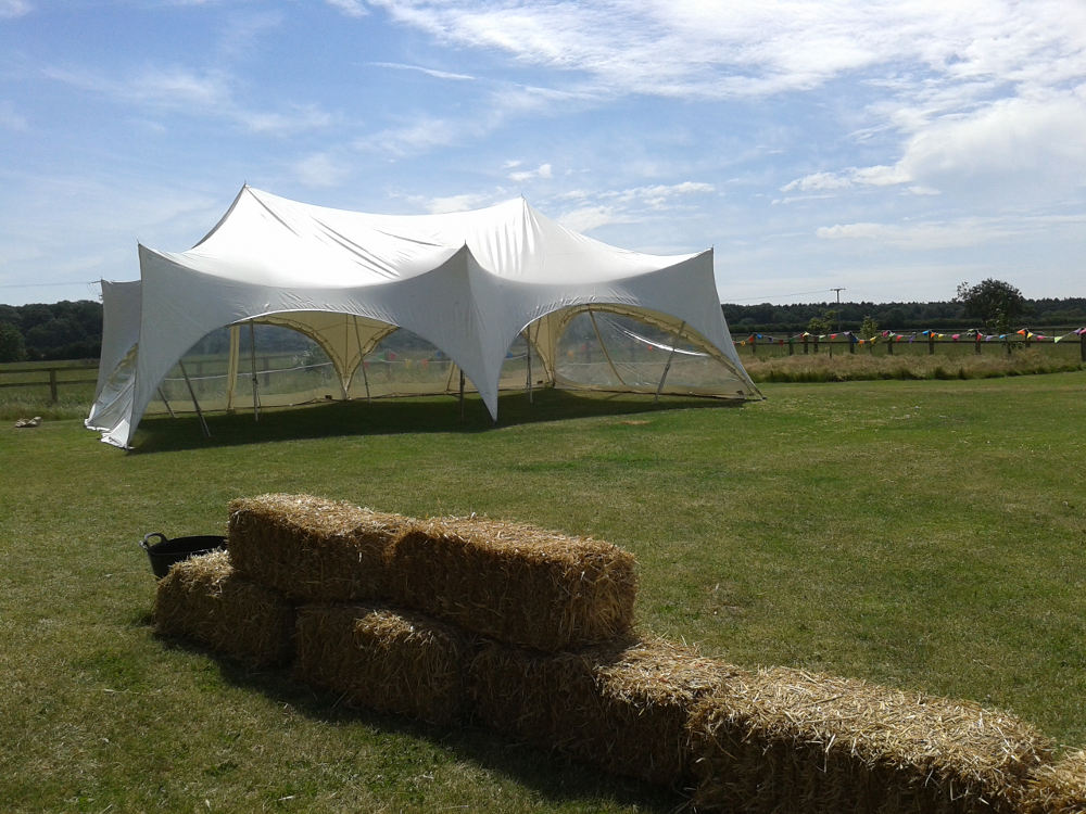 capri marquees open tents godwick hall weddings