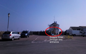 gorleston doggie diner location map where is it located map