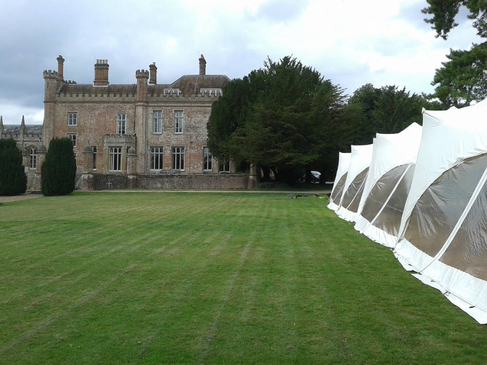 Ketteringham Hall Wedding Venue weddings tents marquees norfolk
