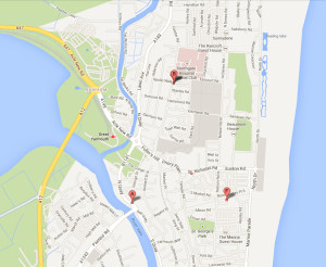 local search engine optimisation great yarmouth norfolk and map showing this