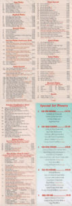 The Mandarin Chinese gorleston menu