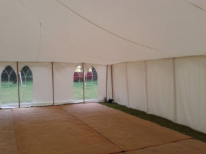 traditional wedding marquees linings walls parties